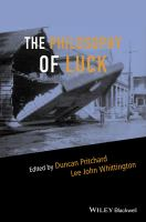 The Philosophy of Luck