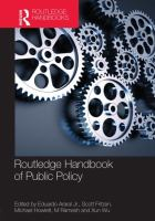 Routledge Handbook of Publi...