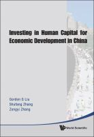 Investing in human capital ...